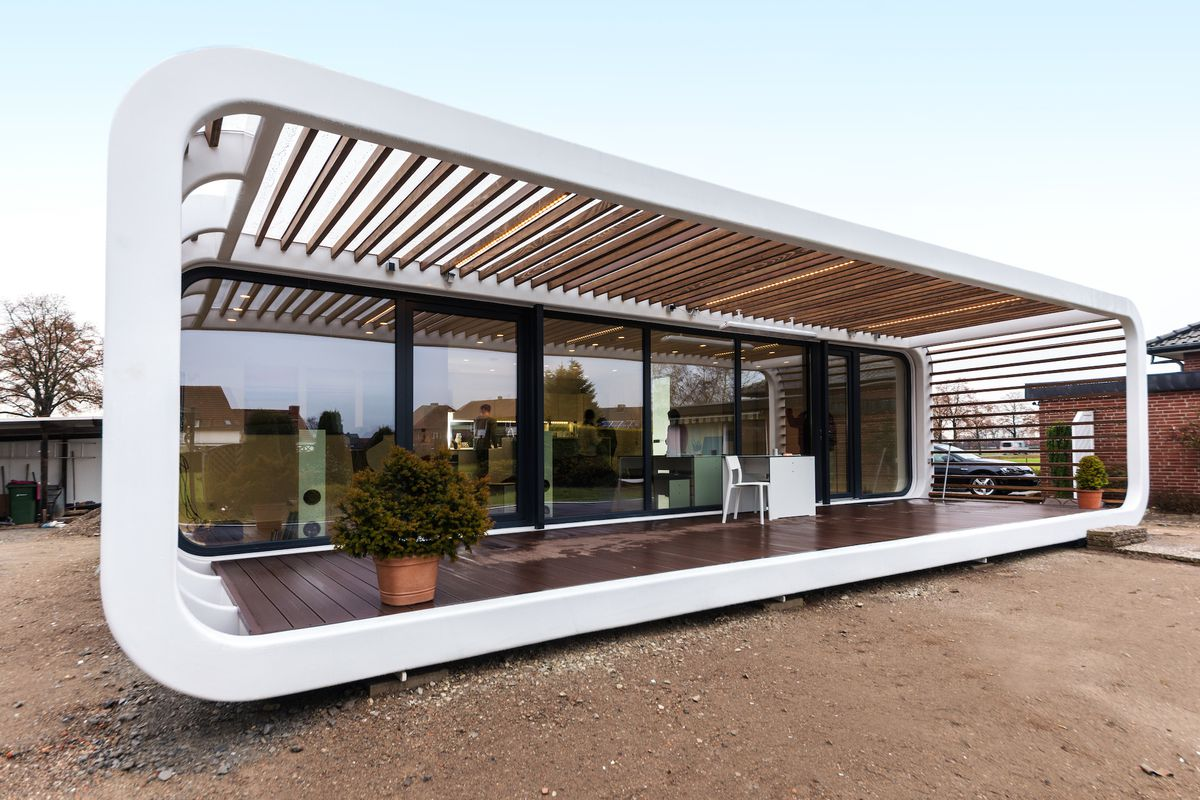 These Sleek Prefabs Come With Smart Home Features Curbed