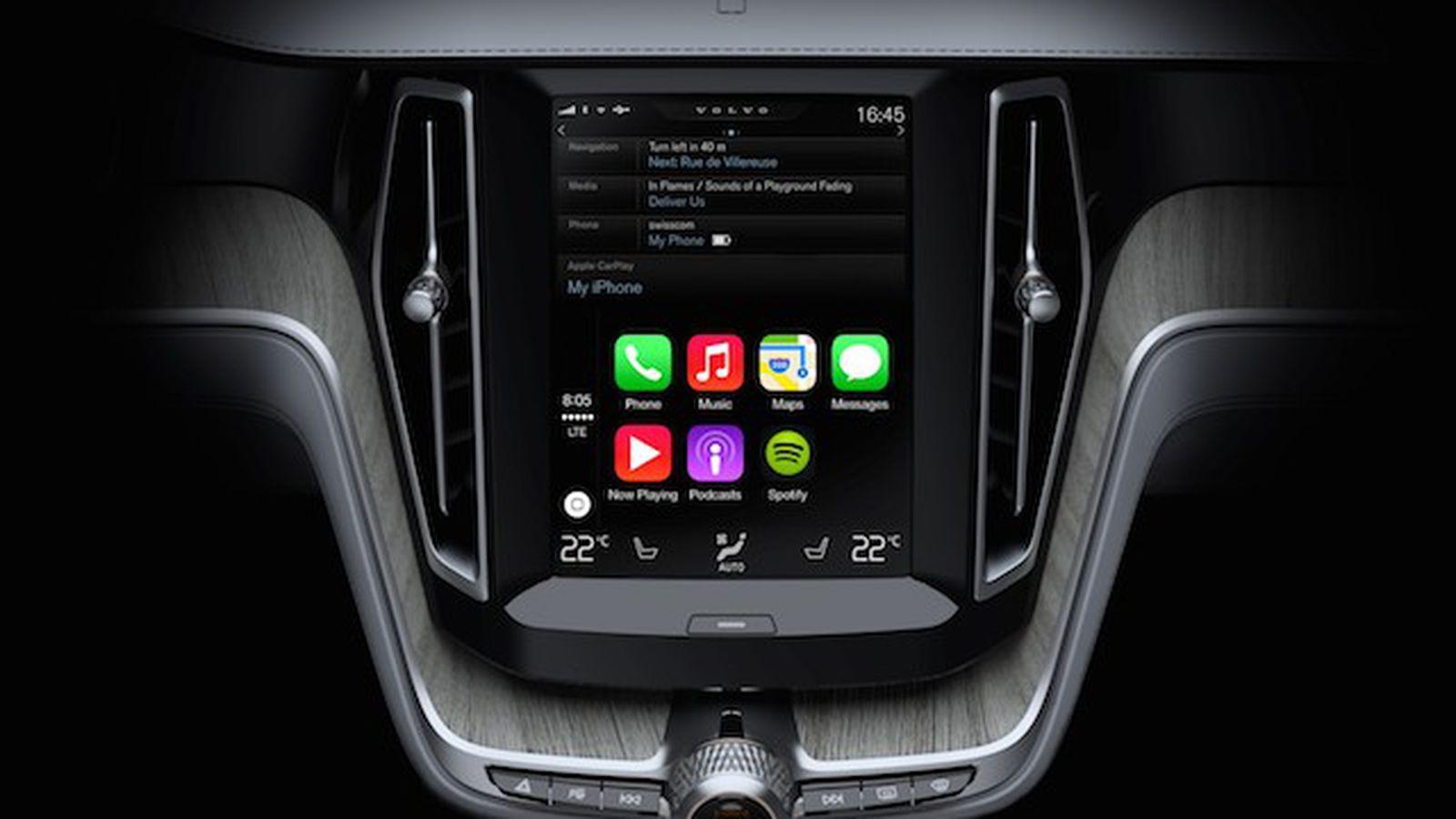 Volvo Archives - CarPlay Life - Apple CarPlay News ...