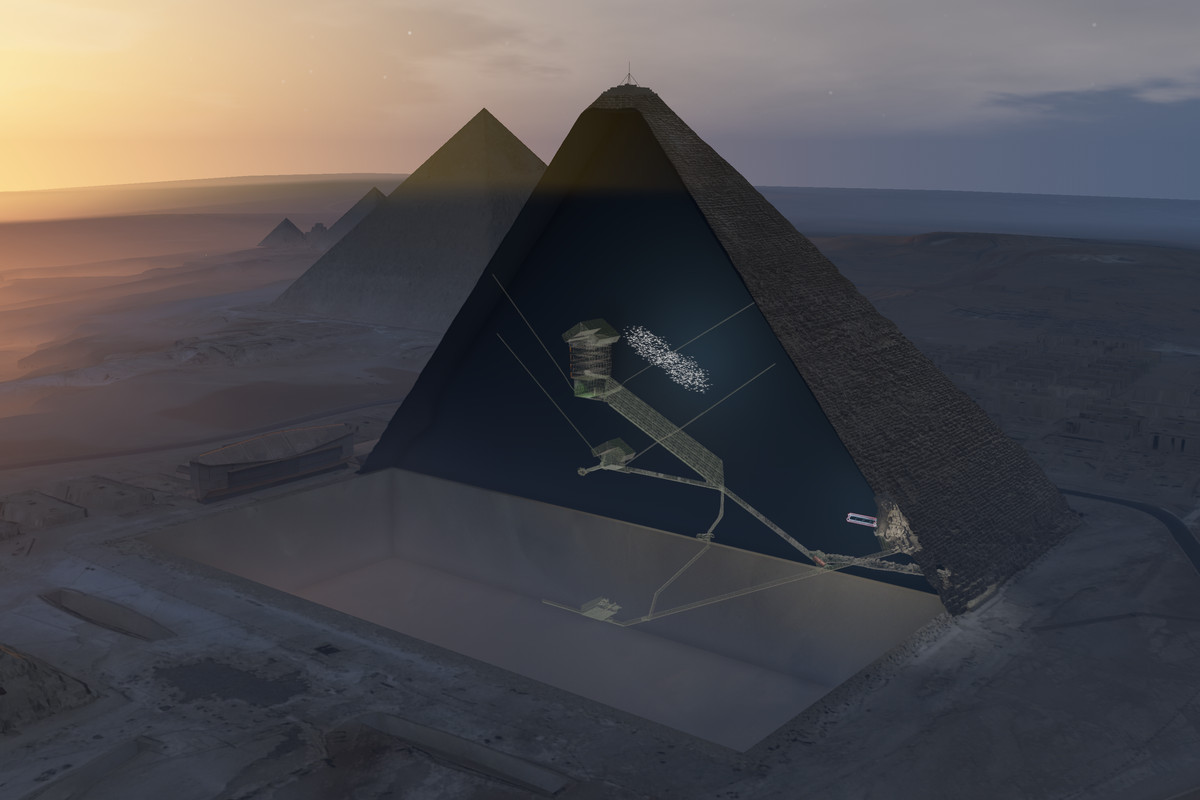 Great Pyramid: Scientists found a mysterious void inside