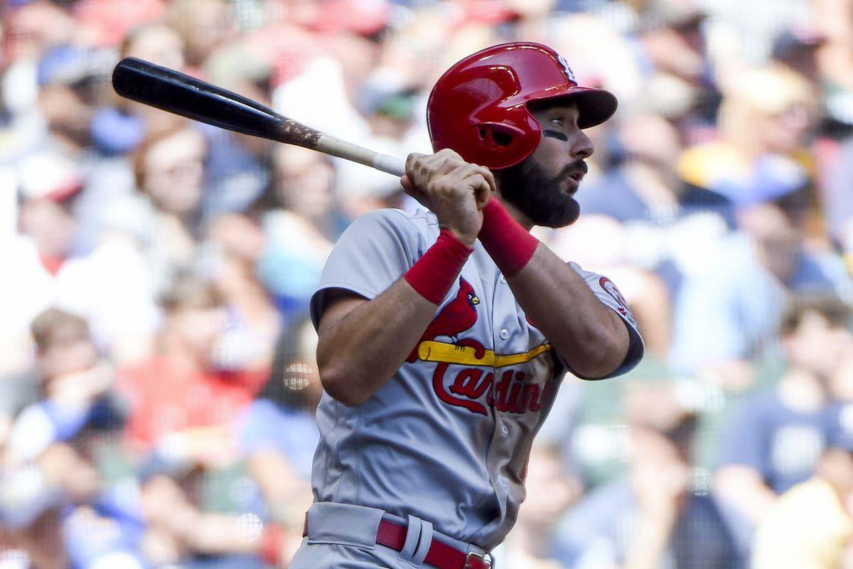 MLB: St. Louis Cardinals at Milwaukee Brewers
