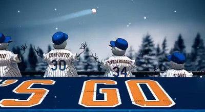 mets7 - What is even happening with this Mets holiday video?