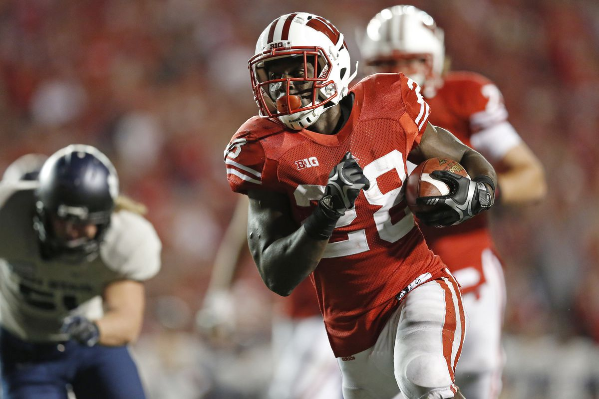Scouts are telling head coach Bret Bielema that Montee Ball (shown) could be the first running back taken in April's NFL Draft.