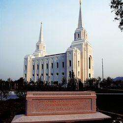 Brigham City Utah Temple, Tuesday, Aug. 14, 2012.