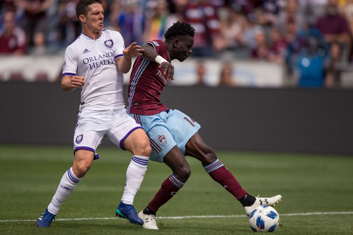 MLS: Orlando City SC at Colorado Rapids