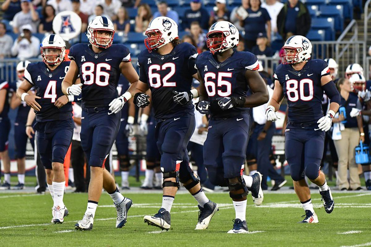 c3972053d701 The UConn offensive line has long been a glaring weakness for the Husky  offense for years. So far this year