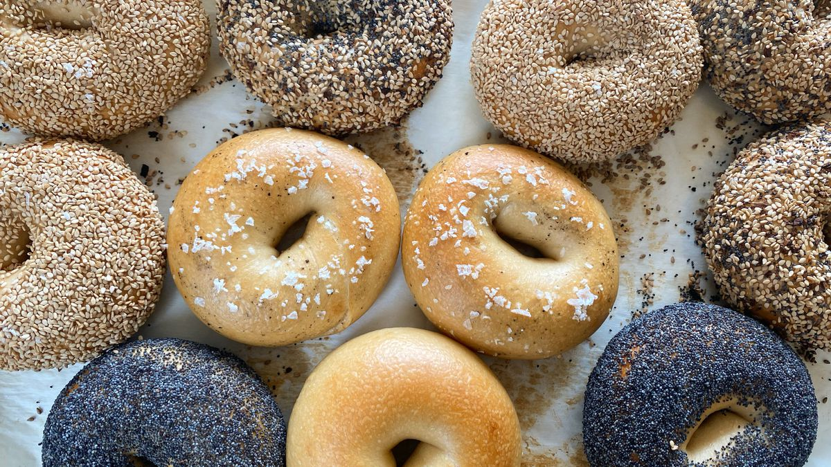 Bagels from Poppy Bagels