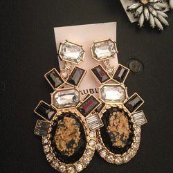 Drop earrings, $25