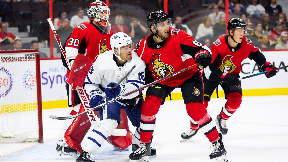 NHL: SEP 18 Preseason - Maple Leafs at Senators