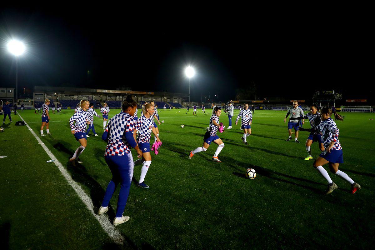 Chelsea Women v Fiorentina Women - UEFA Women's Champions League Round of 16 1st Leg
