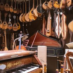 Instruments from around the world at Andy's Music, in Avondale.   Tyler LaRiviere/Sun-Times