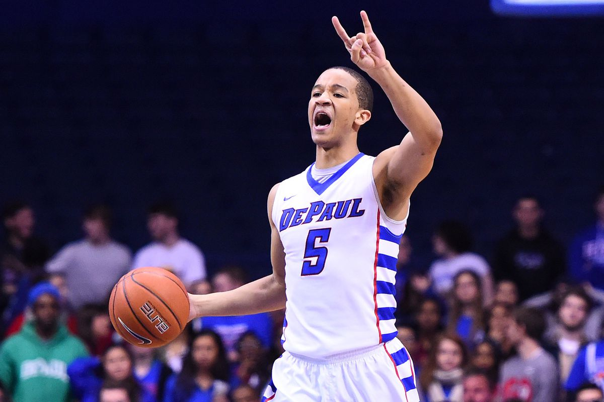 Billy Garrett's 13 made free throws may have made the difference for the Blue Demons.
