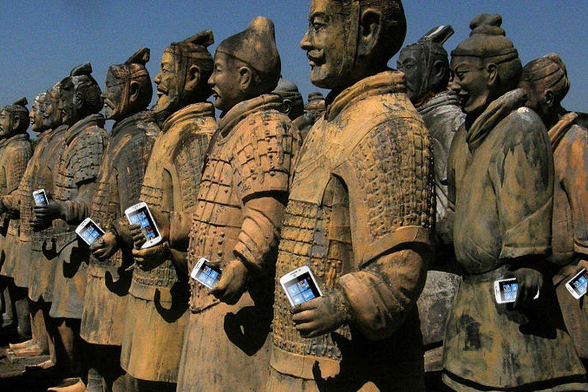 China overtakes US smartphone market
