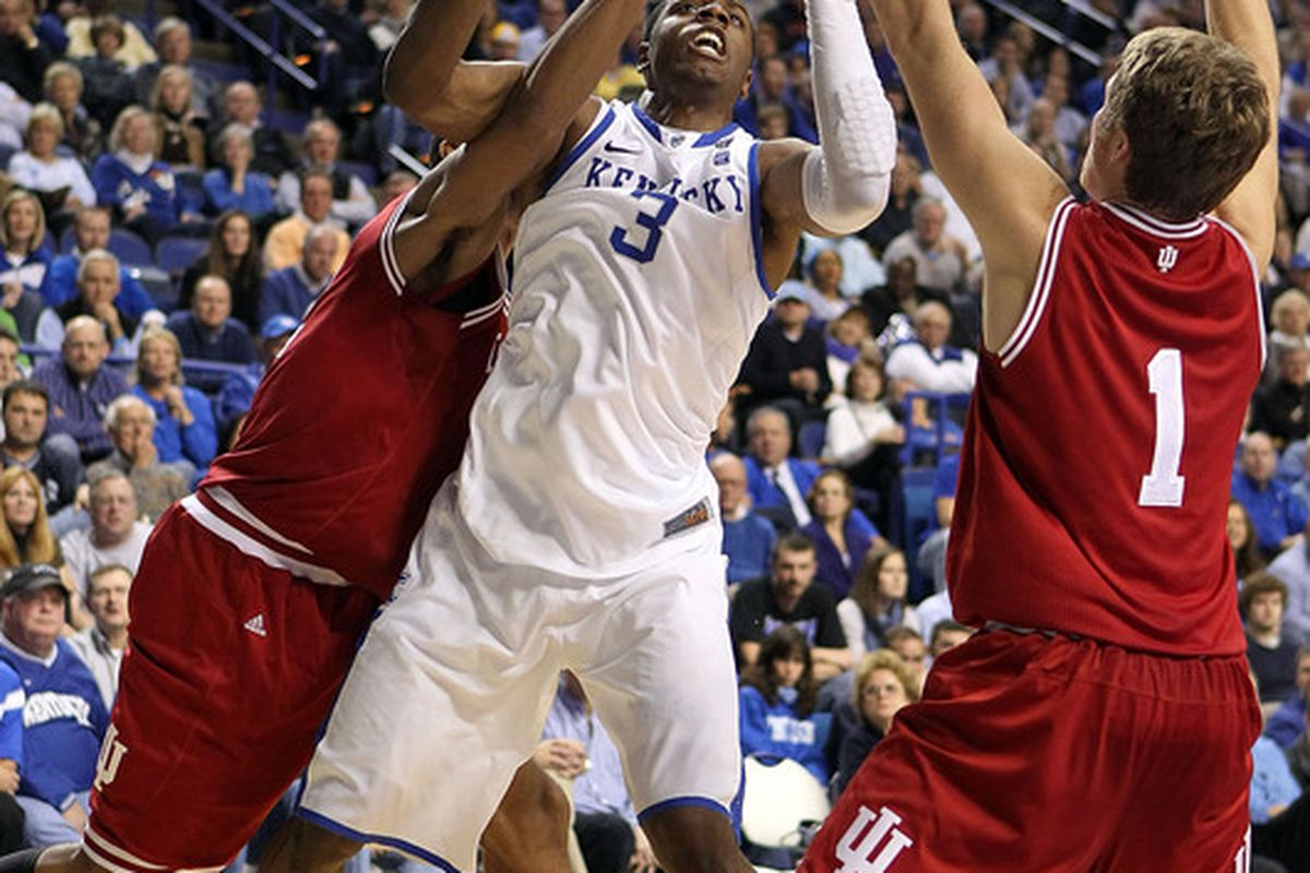 Last year, Terrence Jones barely showed up against the Hoosiers.  This year figures to be different.