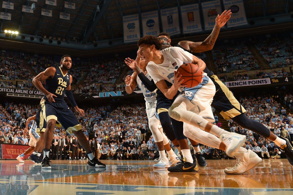 NCAA Basketball: Pittsburgh at North Carolina