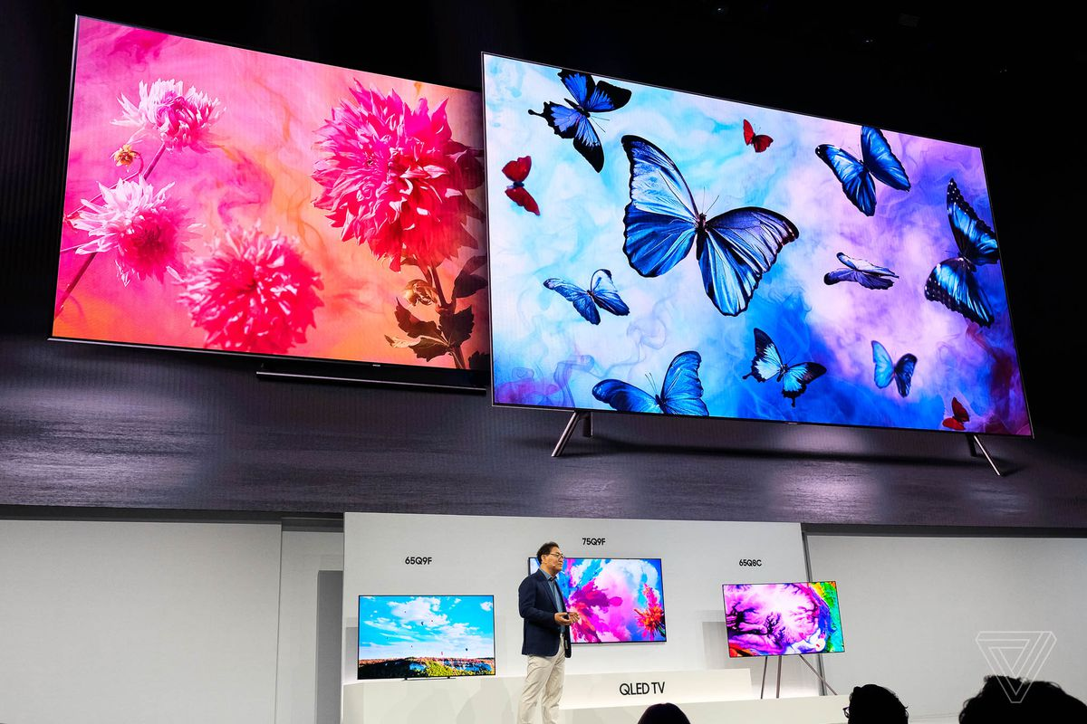 Samsung's 2018 QLED 4K TVs can blend into your wall and
