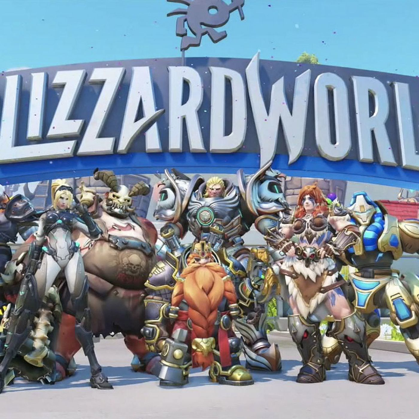 overwatch s blizzard world update is here with rad new skins and