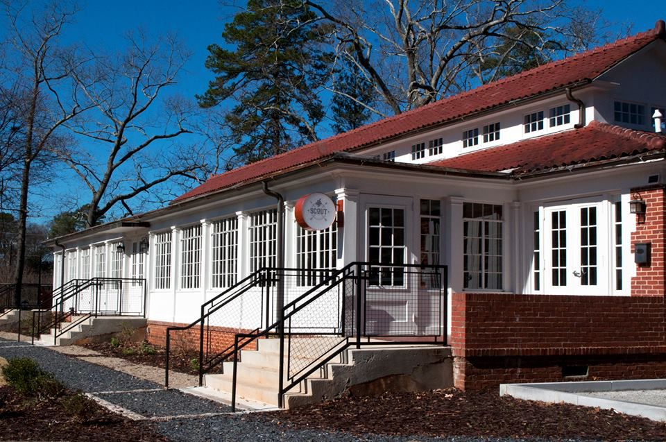 Exterior view of Scout.