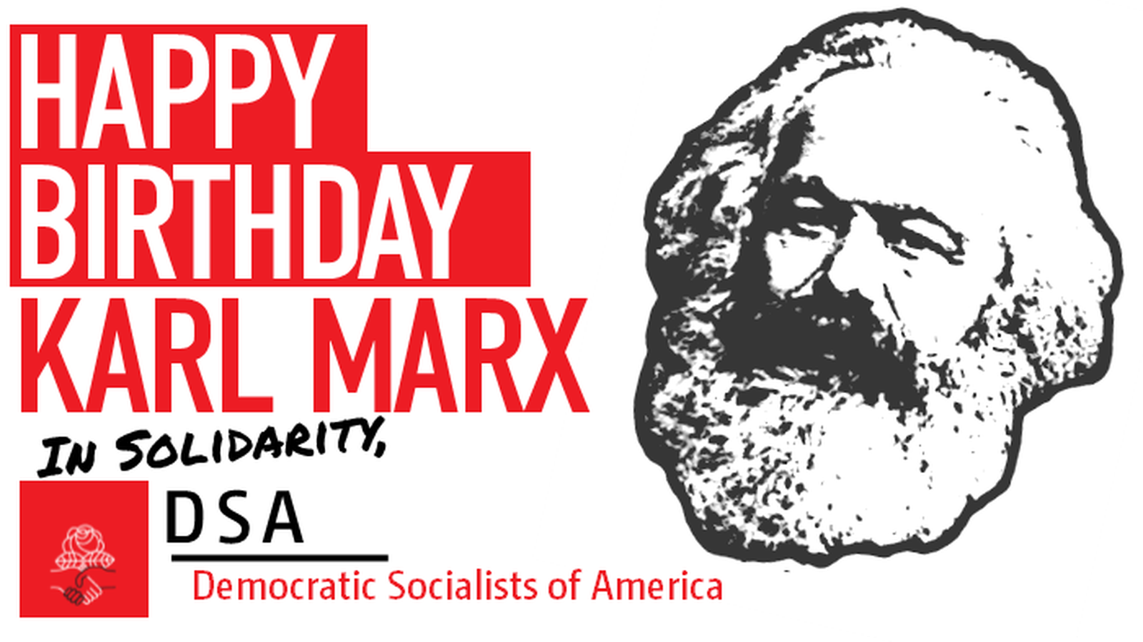 Image result for democratic socialists of america logo