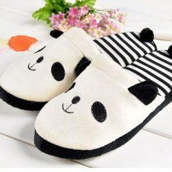 "Panda slippers, <a href=""http://www.amazon.com/selling-white-plush-indoor-slipper/dp/B00AEMH41M/ref=sr_1_13?ie=UTF8&qid=1389891522&sr=8-13&keywords=panda+socks"">$6.90</a> on Amazon"