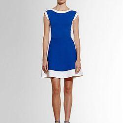 "<b>Pink Tartan</b> waffle weave, flare-and-fit dress, <a href=""http://www.lordandtaylor.com/eng/womensapparel-dresses-newarrivals-Power_Stretch_Fit_and_Flare_Dress-lordandtaylor/209050/?utm_source=GAN&utm_medium=Affiliates&utm_campaign=ShopStyle.com&utm_c"