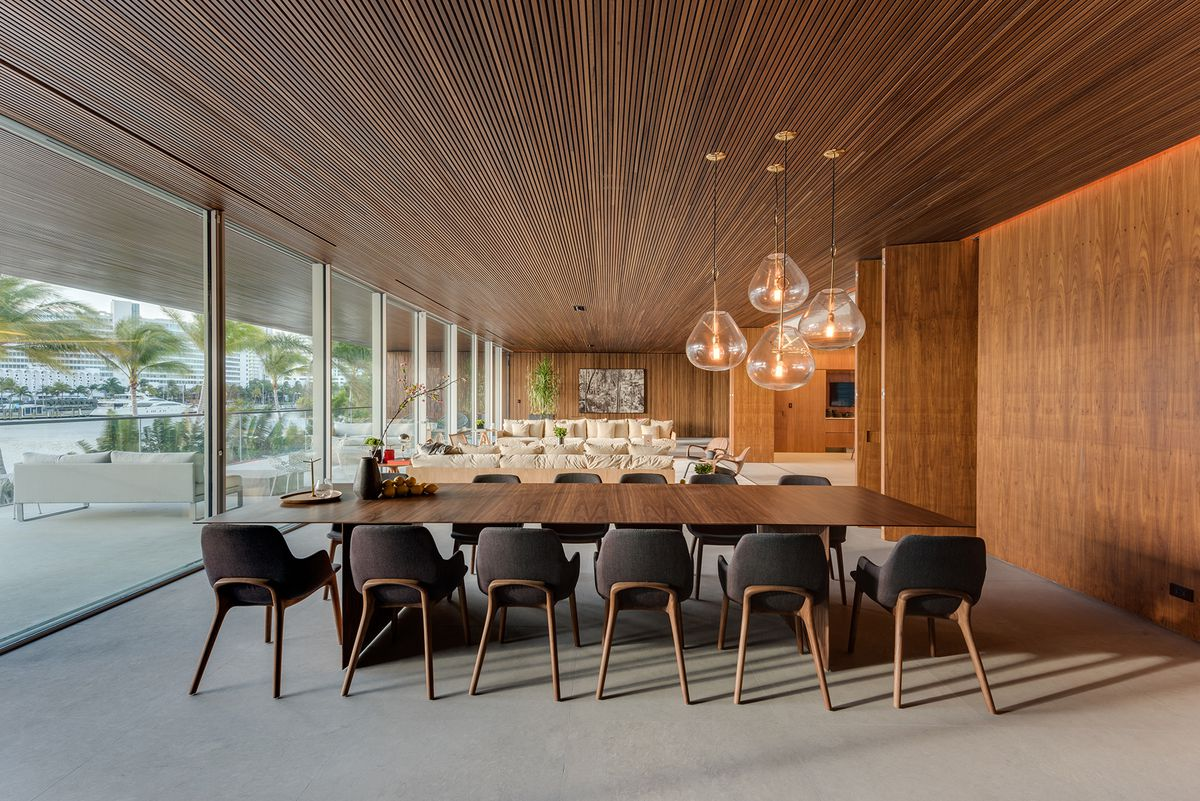 Stunning Miami Beach Contemporary With 200 Ft Bridge Lists