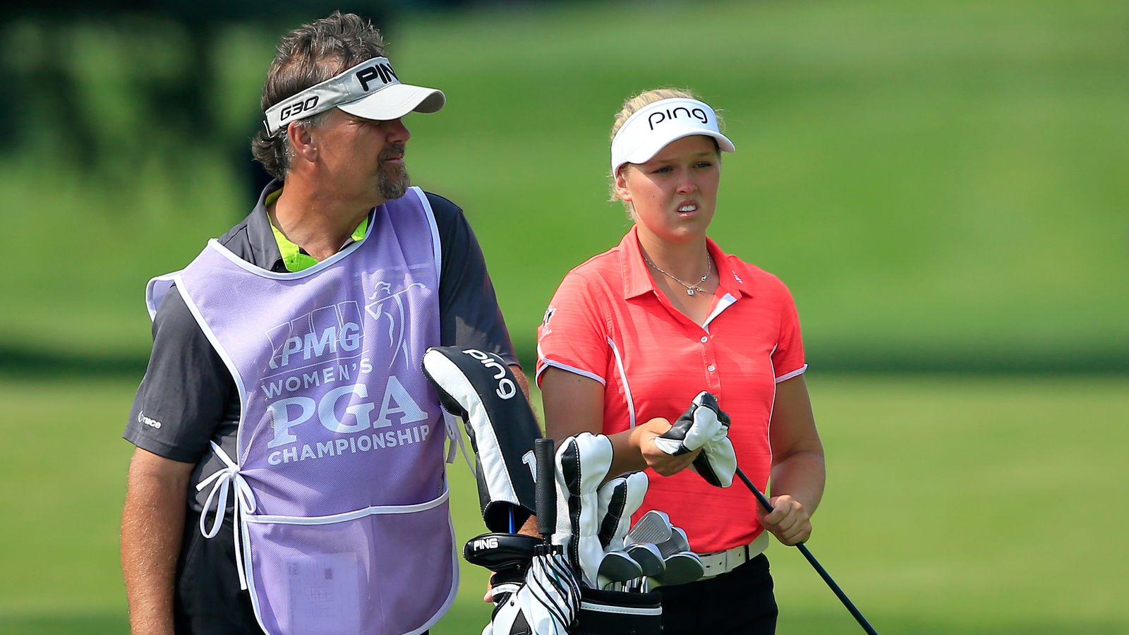 Brittany Lincicome, Jessica Korda spurred by birdie bet at