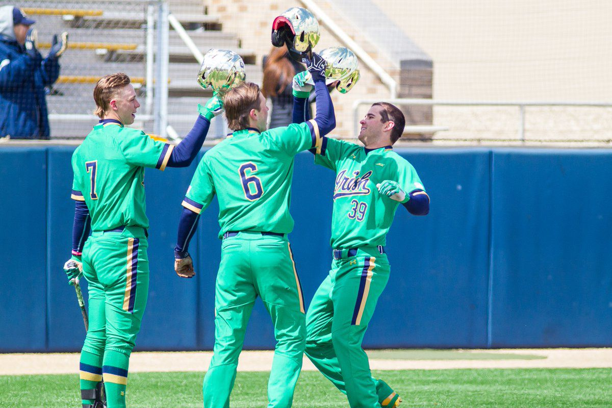 sale retailer 81f18 1622b Notre Dame Baseball: Irish Win Saturday; Drop Sunday ...
