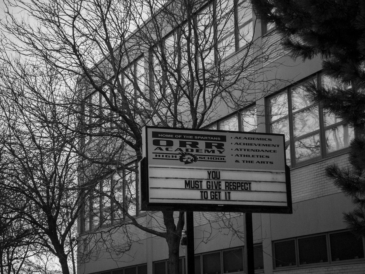 Orr Academy High School, 730 N. Pulaski Rd.