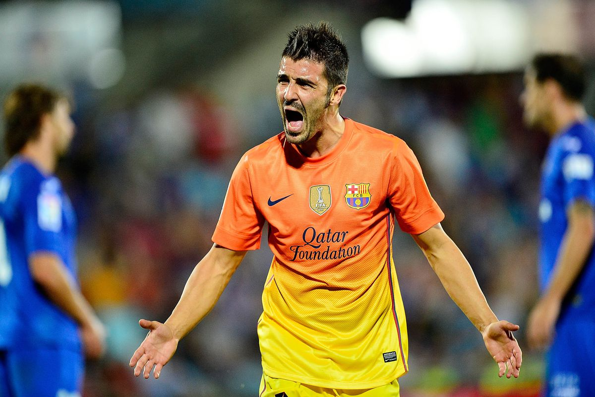 There are rumors that we could see David Villa from the start tomorrow.