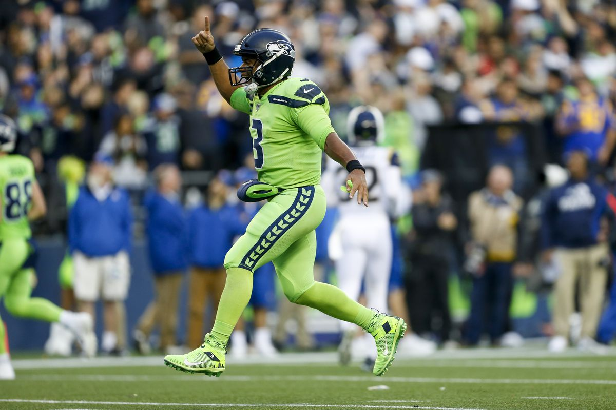 Russell Wilson isnt in the MVP conversation, he is the MVP conversation