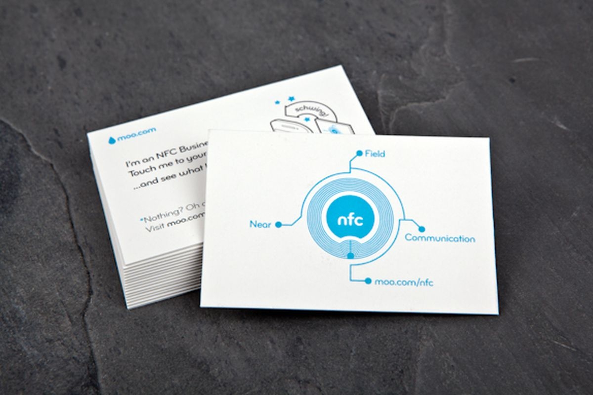 moo nfc business card - Nfc Business Cards