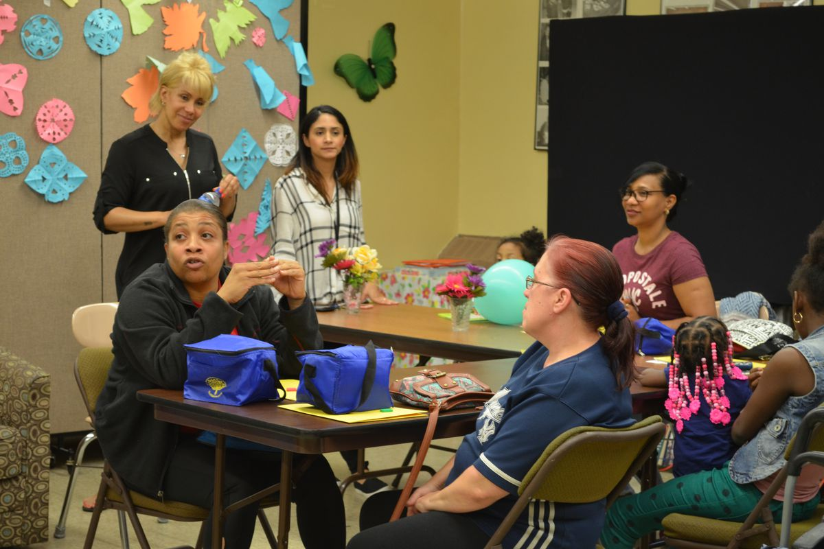 Parents and staff at New Venture discuss academics, mental health and how to improve school culture.