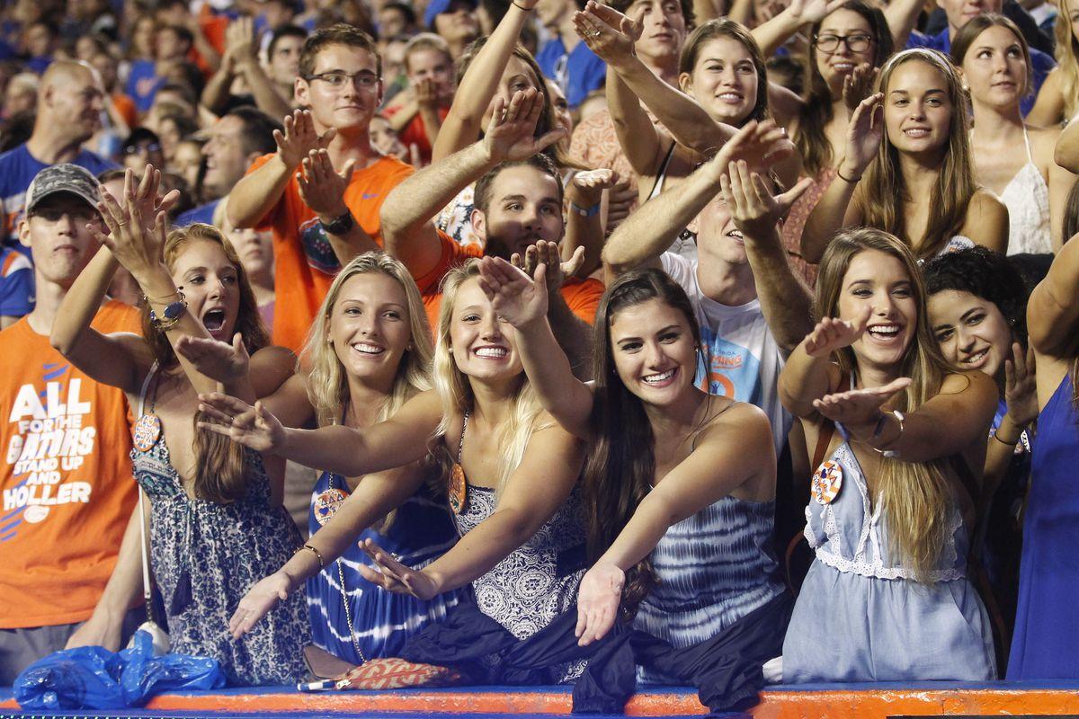 NCAA FOOTBALL: SEP 12 East Carolina at Florida