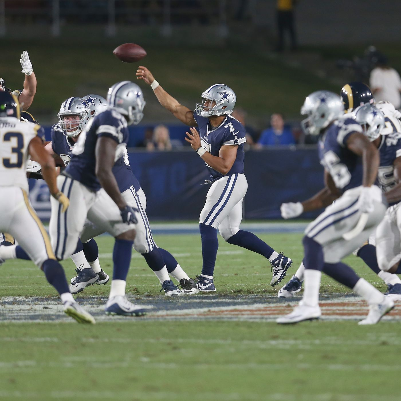 aebb136f Cowboys vs. Rams 2017 live stream: Start time, TV channel, and how ...