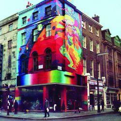 The Beatles' legendary Apple Boutique in London