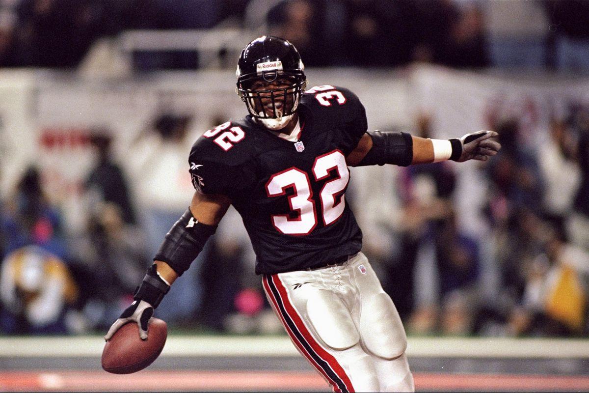 Jamal Anderson #32...