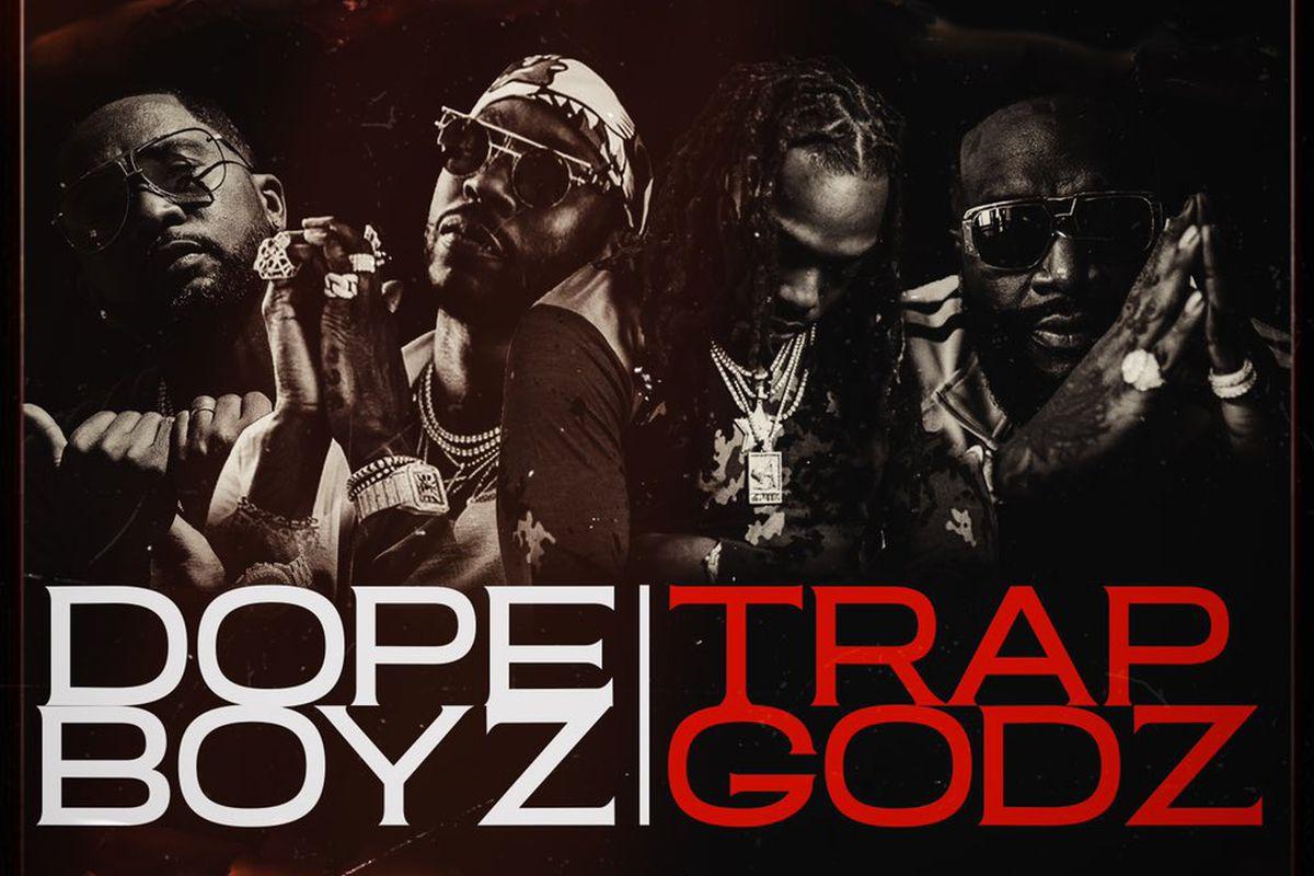 """""""Dope Boyz & Trap Godz"""" artwork"""