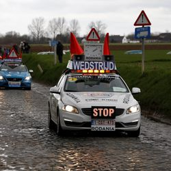 Course closure on Holleweg