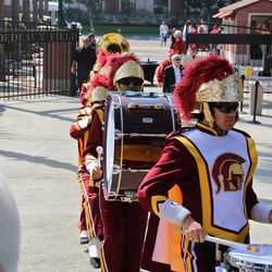 The Spirit of Troy Trojan Marching Band.