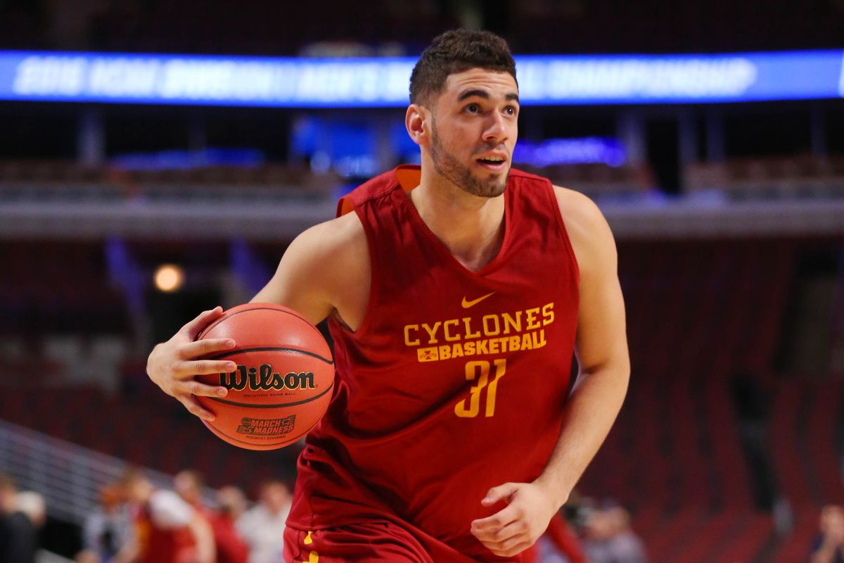 Georges Niang  NBA Combine First Scrimmage Recap - Wide Right ... d5ad813a1