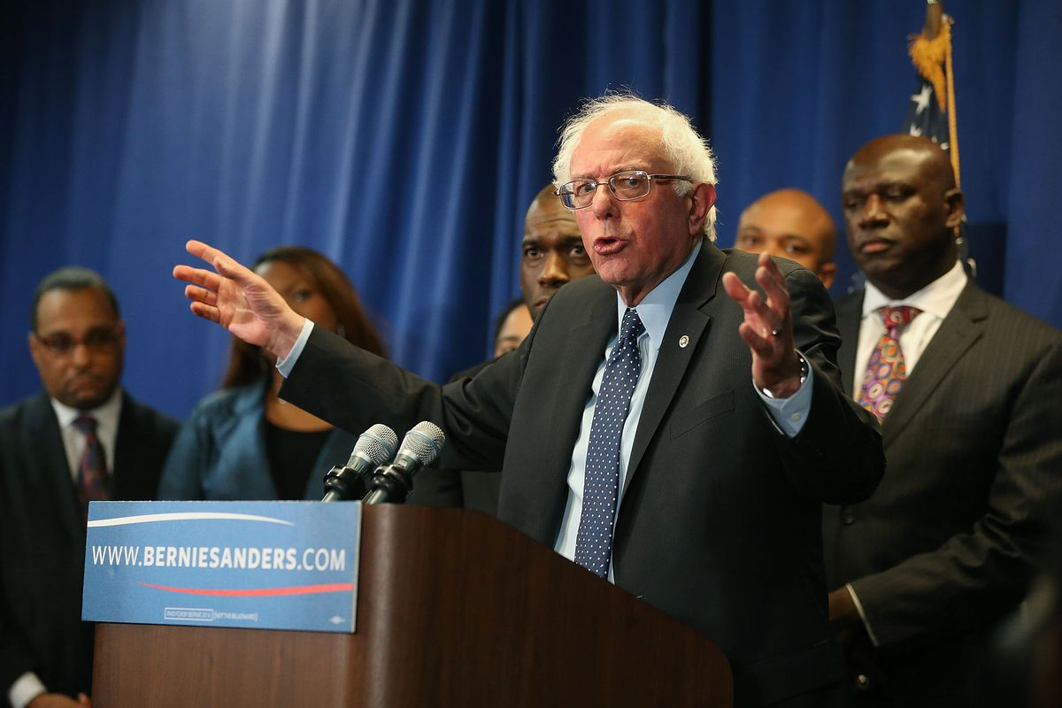 Sanders' campaign had access to Hillary Clinton's data.