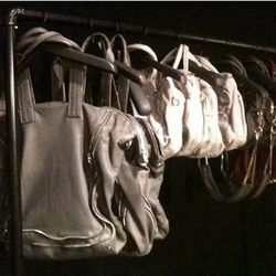 The bags at Alexander Wang in August