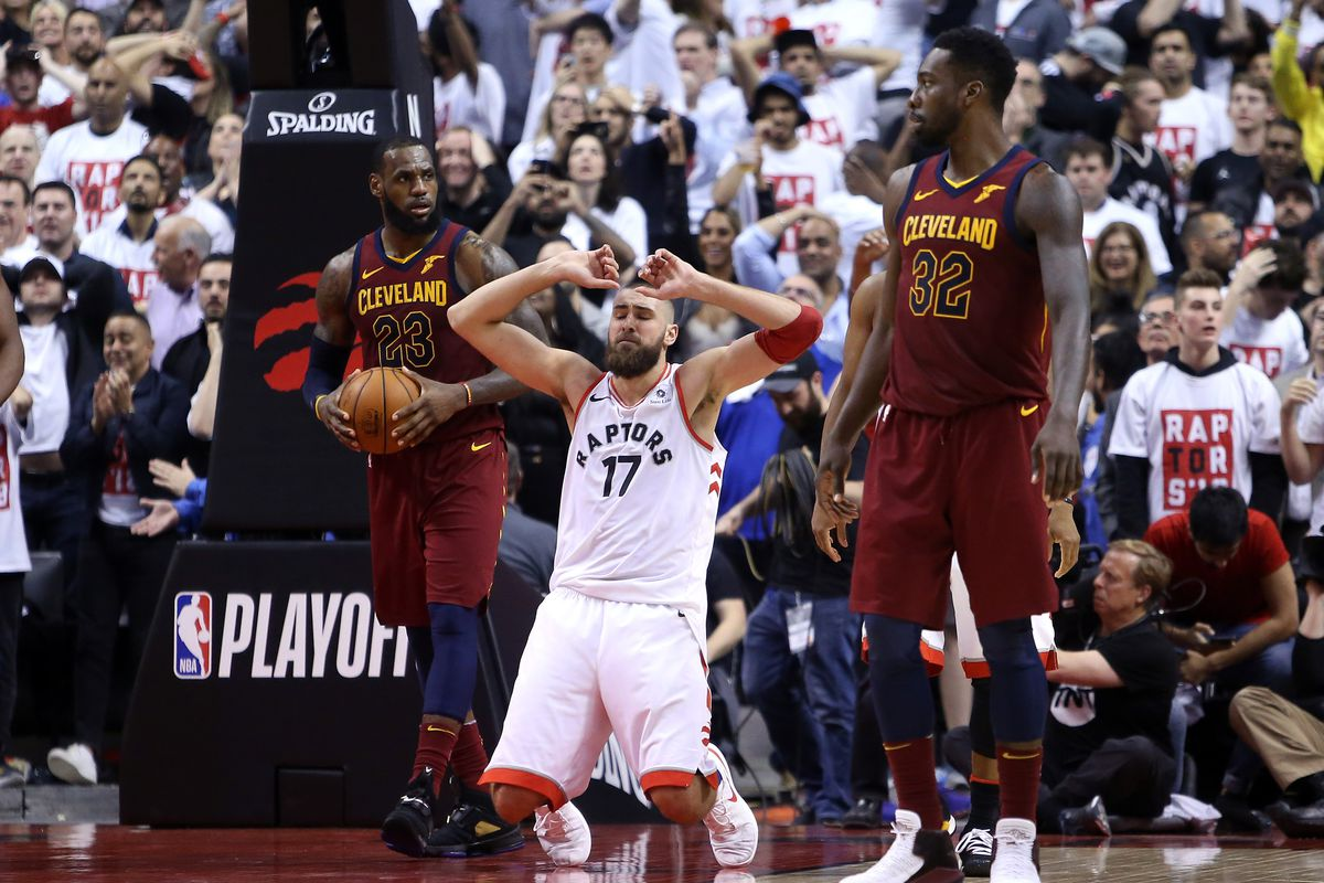 438df19c4 NBA Playoffs 2018 Raptors vs. Cavaliers Game 1 Turning Point ...