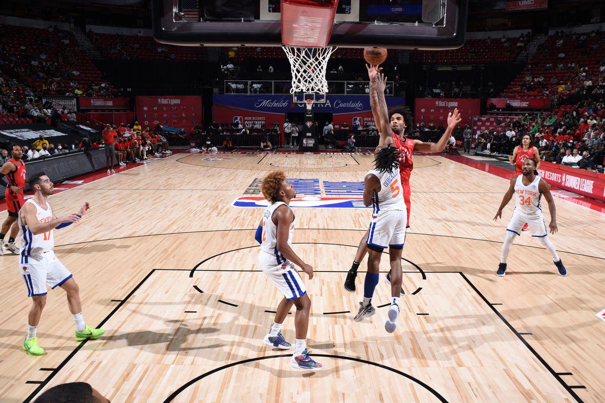 2021 Las Vegas Summer League - Toronto Raptors v New York Knicks