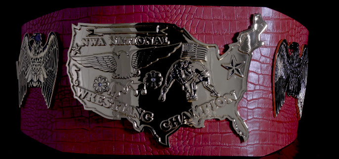 the nwa s new national championship belt sure is something