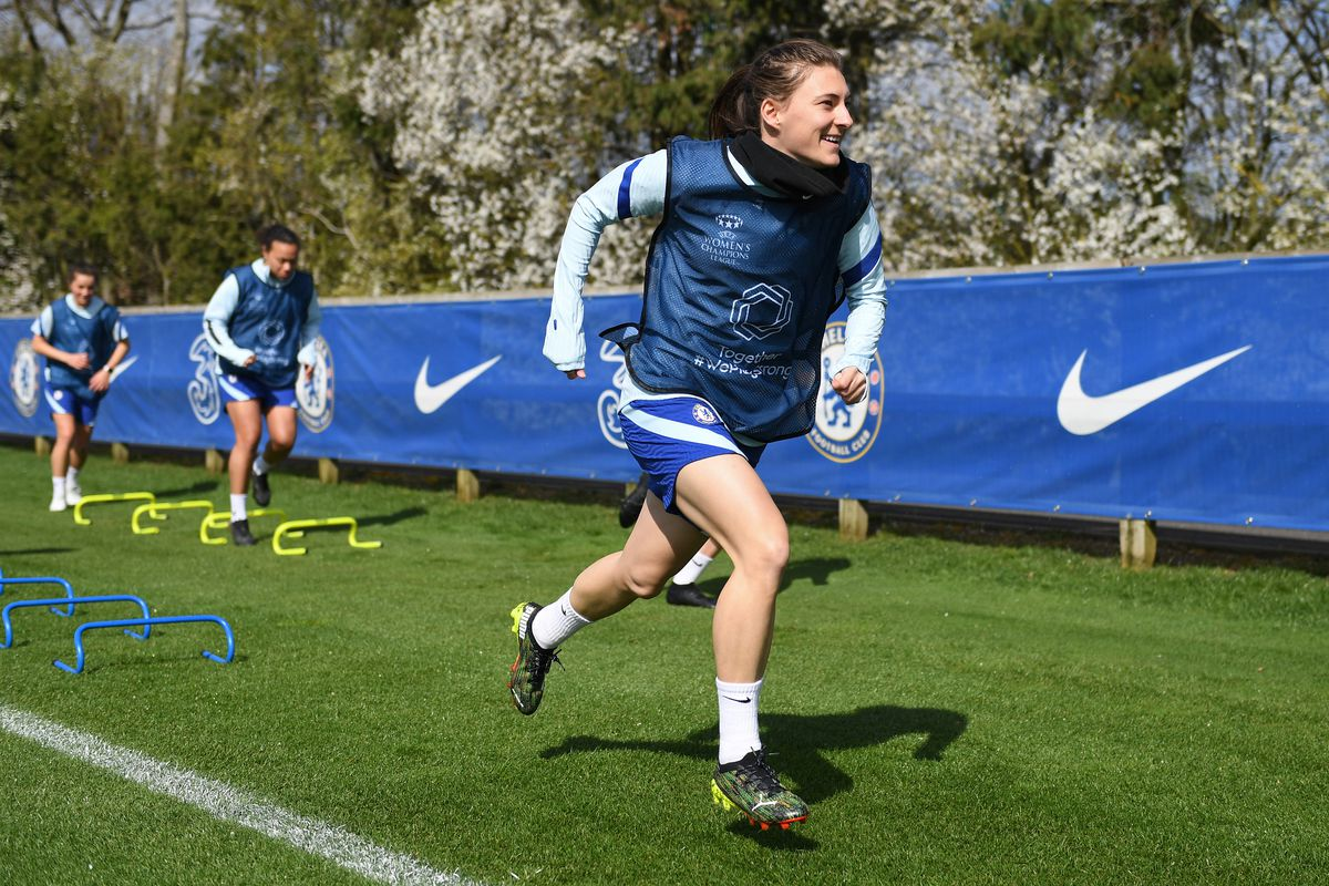 Chelsea Women Training & Press Conference
