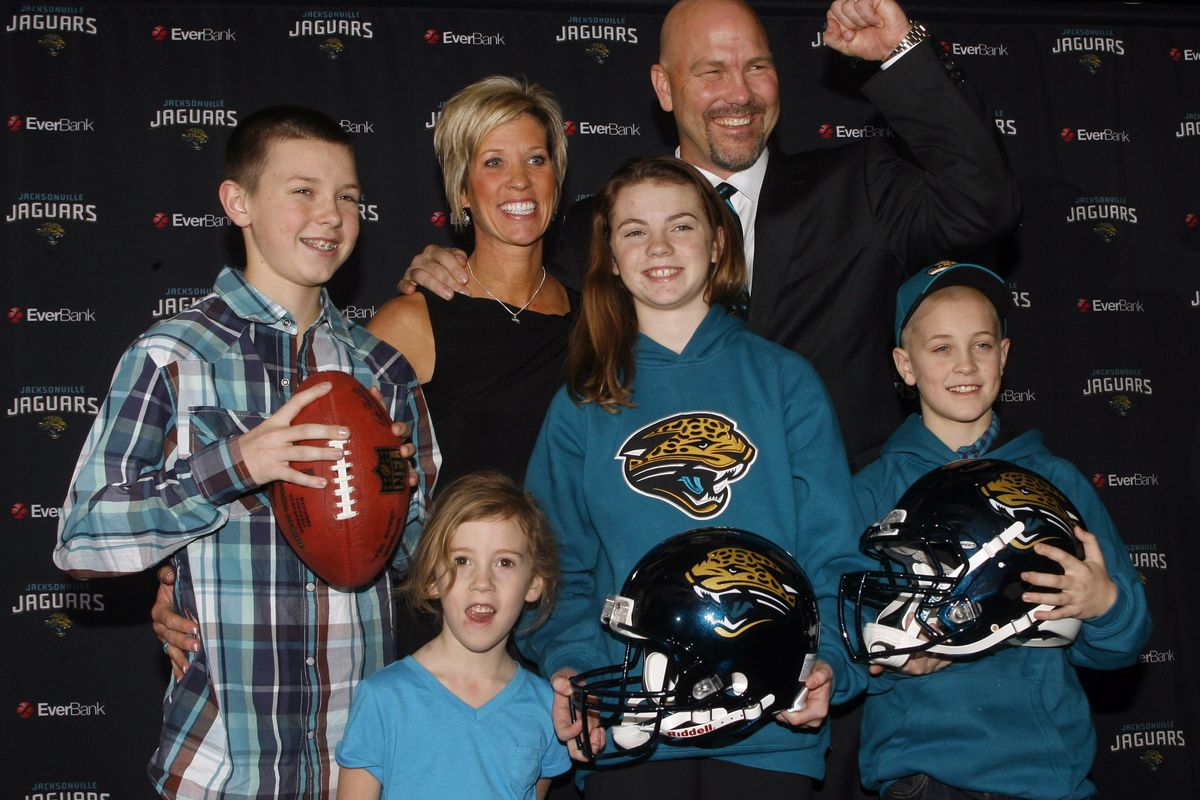 Gus Bradley, the new Jaguars head coach, I knew him when ...