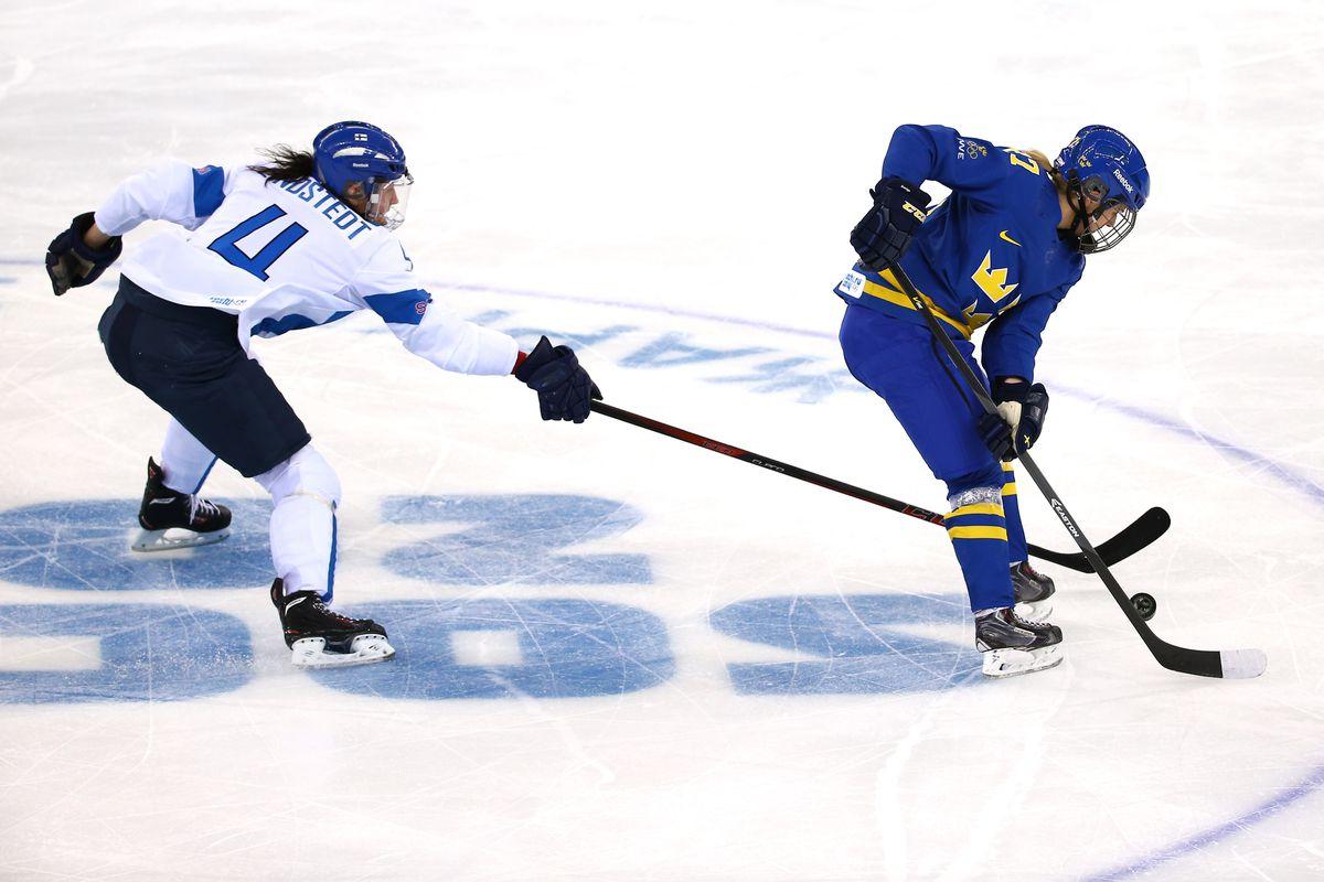 Ice Hockey - Winter Olympics Day 8 - Finland v Sweden