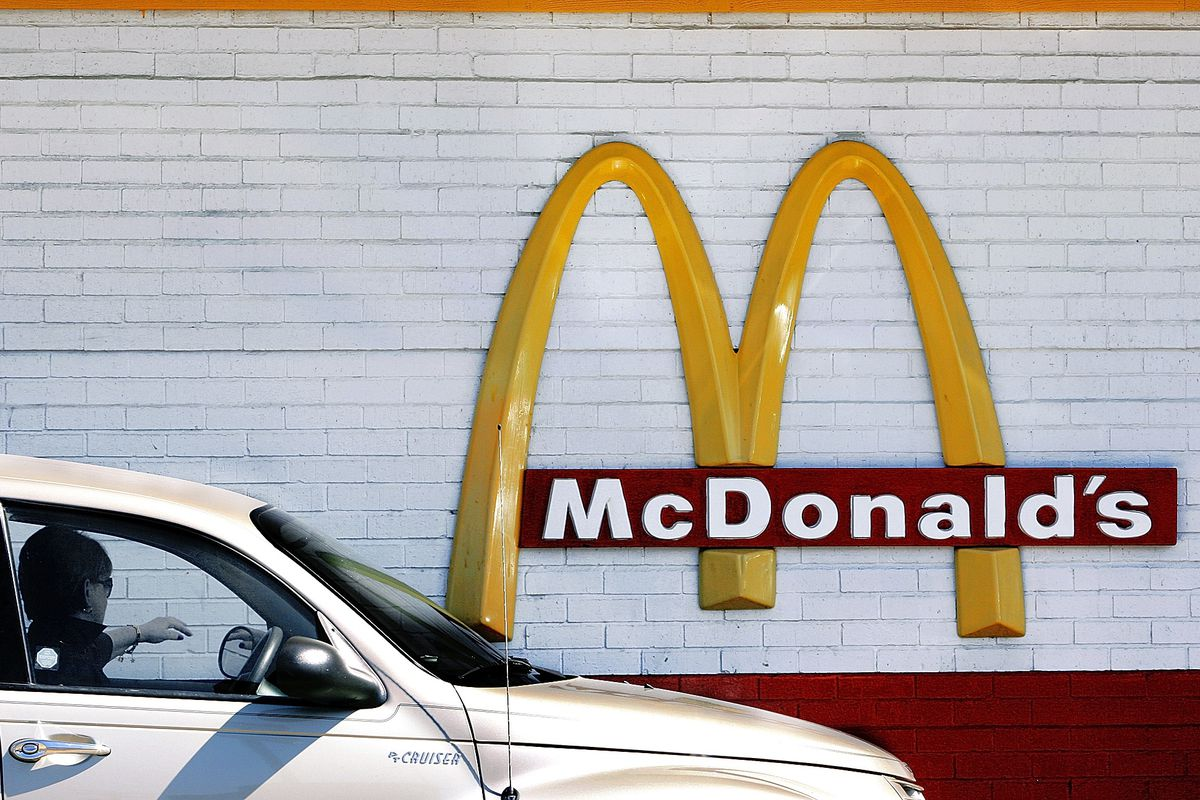 A McDonald's restaurant in Springfield, Illinois.