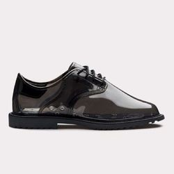 """OC Rubber Transparent Lace-up, <a href= """"http://www.openingceremony.us/products.asp?menuid=2&designerid=1494&productid=63957"""">$140</a>"""